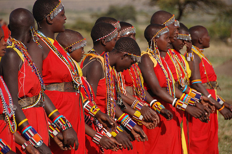 Amawaterways Maasai women