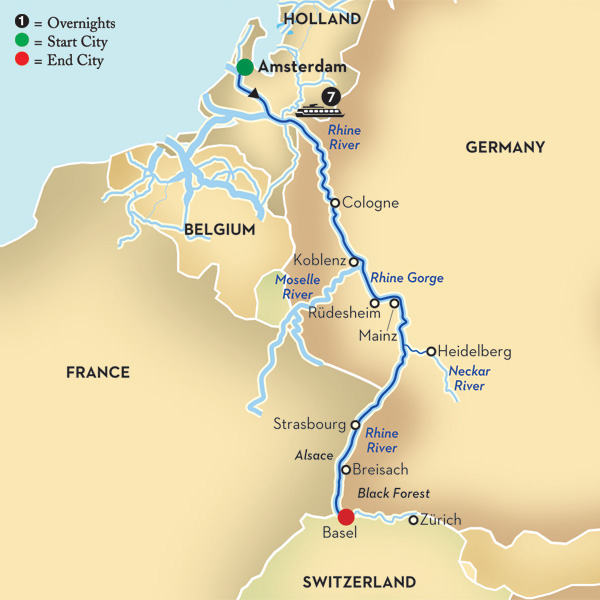 The 10 Best Rhine River Cruises 20182019 with 591