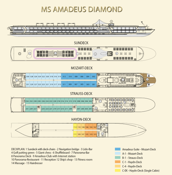 Amadeus Diamond Deck plan