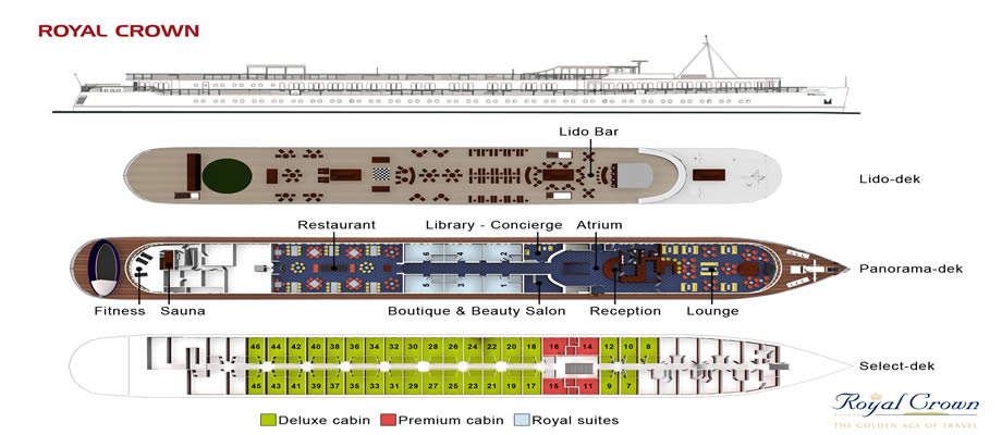 Royal Crown deck plan