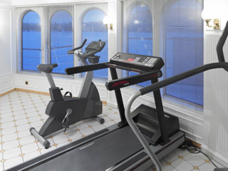 Royal Crown fitness room